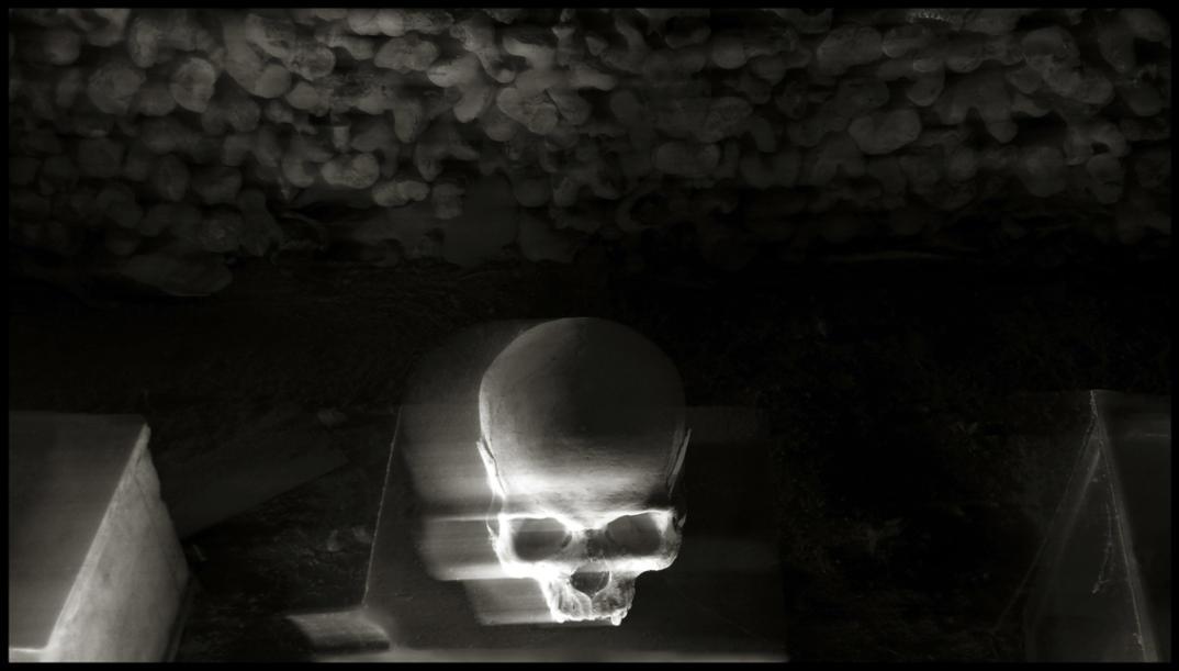 Il Cimitero delle Fontanelle, foto di Augusto De Luca