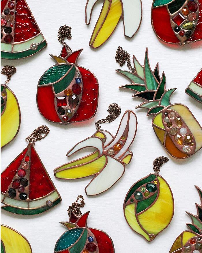 Arte Delle Vetrate Artisti Contemporanei Elena Zaycman