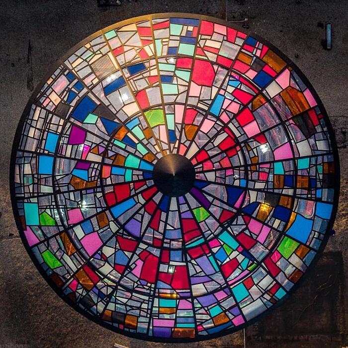 Arte Delle Vetrate Artisti Contemporanei Tom Fruin