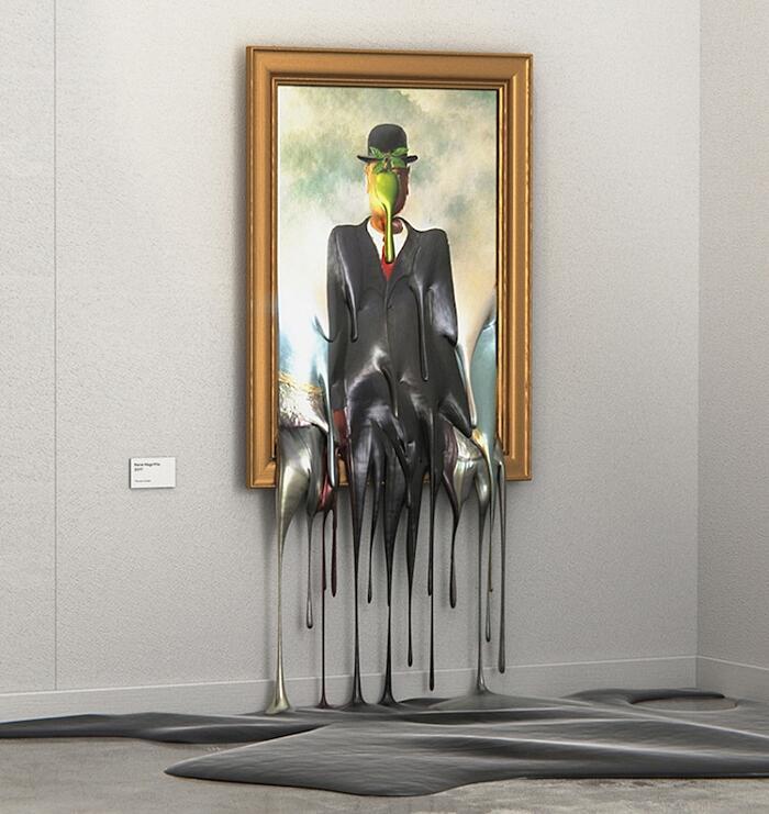 Arte Digitale Hot Art Exhibition Alper Dostal
