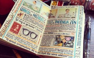 Artista autodidatta crea taccuini di viaggio incredibilmente realizzati a mano