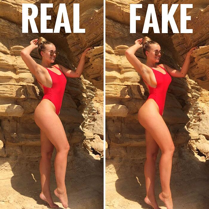 Blogger Mostra Foto False Instagram Chessie King