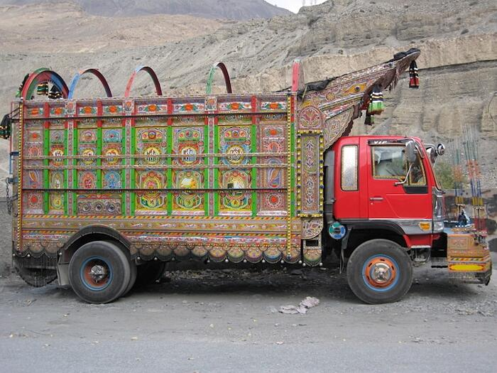 Camion Decorati Pakistan Jingle Truck