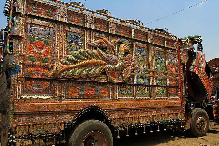 Camion Decorati Pakistan Jingle Truck