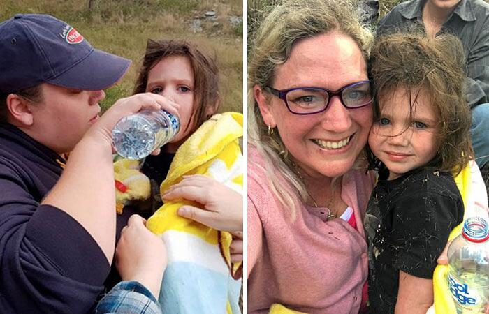 Cane eroe Max salva bambina Aurora in Australia