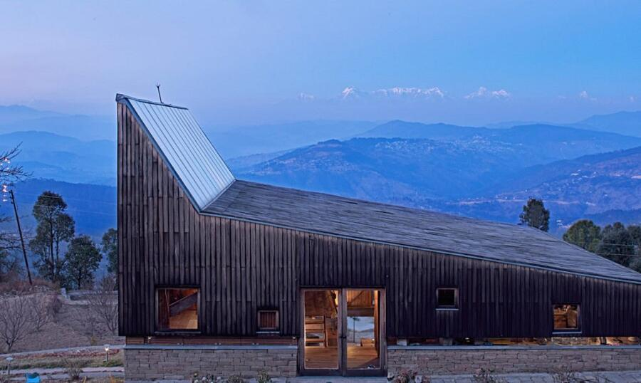 Casa vacanza Zen con vista sull'Himalaya in India