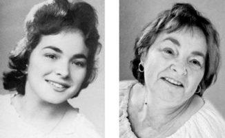 Fotografa confronta i volti invecchiati di 60 anni