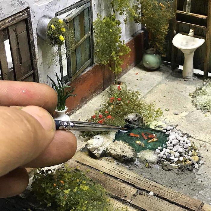 Diorami In Miniatura Eddie Putera