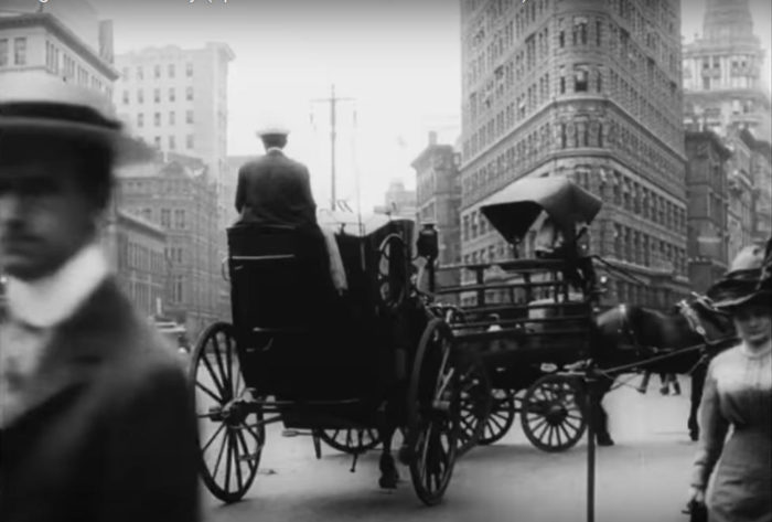 Un video storico di New York nel 1911 girato da una troupe svedese