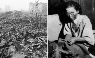 33 foto mostrano gli effetti devastanti della bomba atomica su Hiroshima