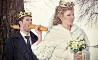 Strane, assurde ed imbarazzanti, le divertentissime fotografie di matrimonio russe