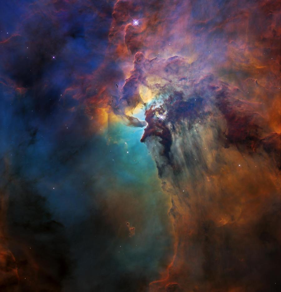 Immagini Telescopio Hubble Nebulosa Laguna