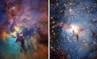 Il telescopio Hubble della NASA celebra il suo 28° compleanno con due immagini spettacolari