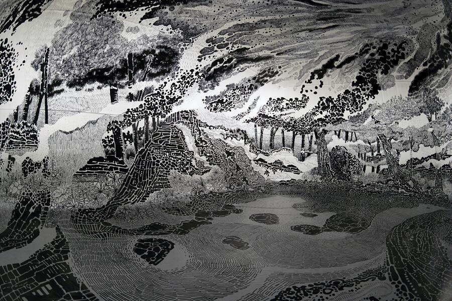 Installazione Arte Immersiva Oscar Oiwa