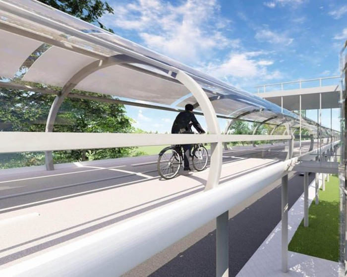 Una superstrada per biciclette in tutte le stagioni