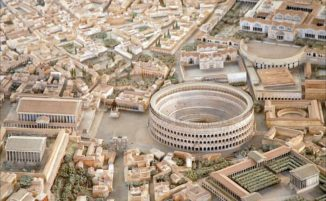 Archologo impiega 35 anni per costruire un modello in scala enorme dell'antica Roma