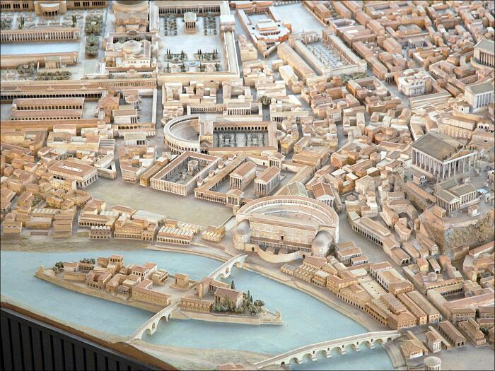 Plastico antica Roma, Italo Gismondi, Museo della Civiltà Romana