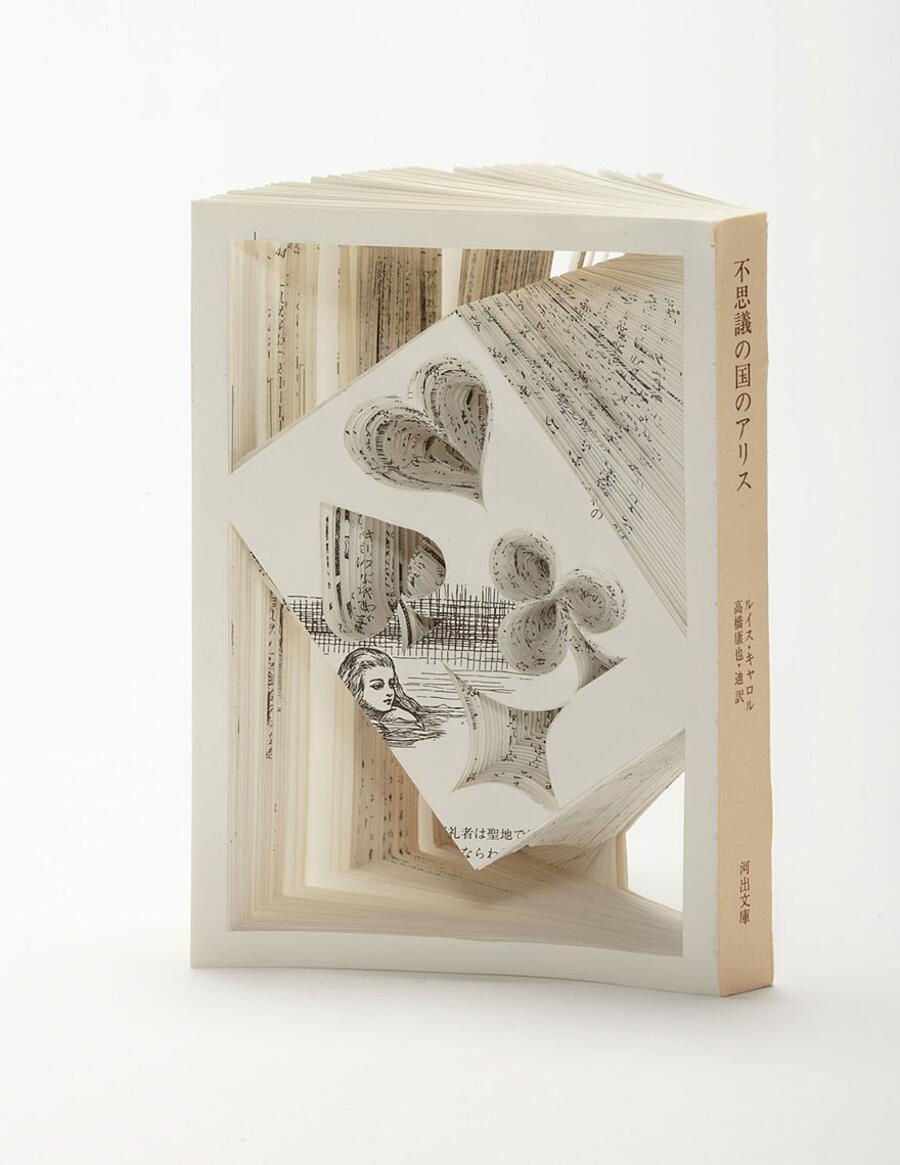 Sculture Nei Libri Tomoko Takeda