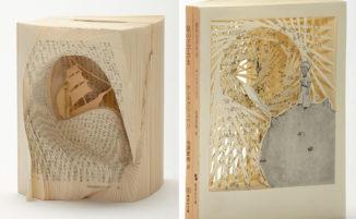 Romanzi famosi trasformati in opere d'arte meravigliosamente intricate