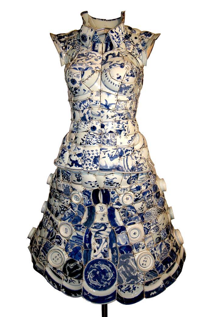 Abiti Fatti Con Porcellana Cinese Li Xiaofang