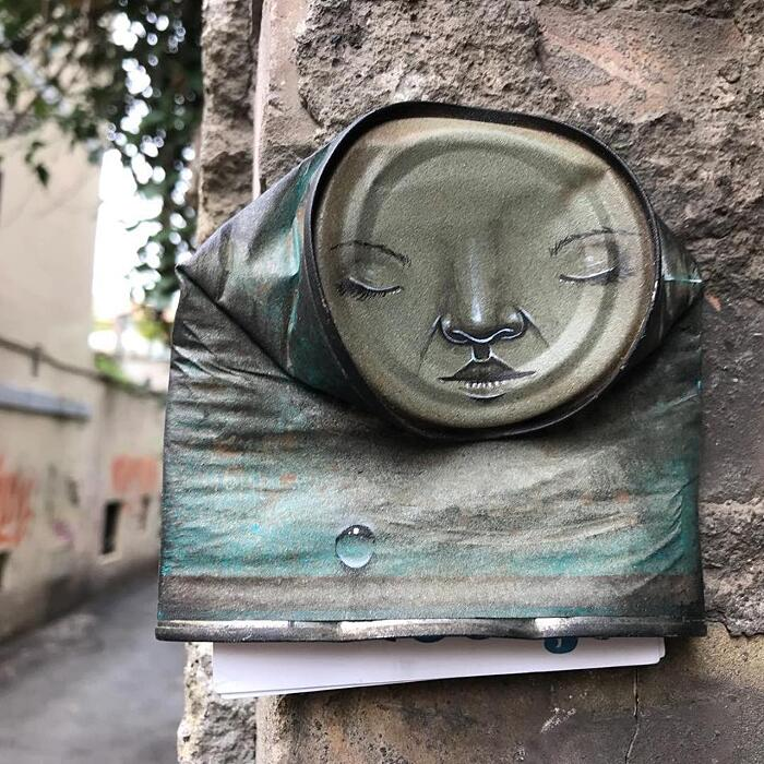 Street Art Occhi My Dog Sighs