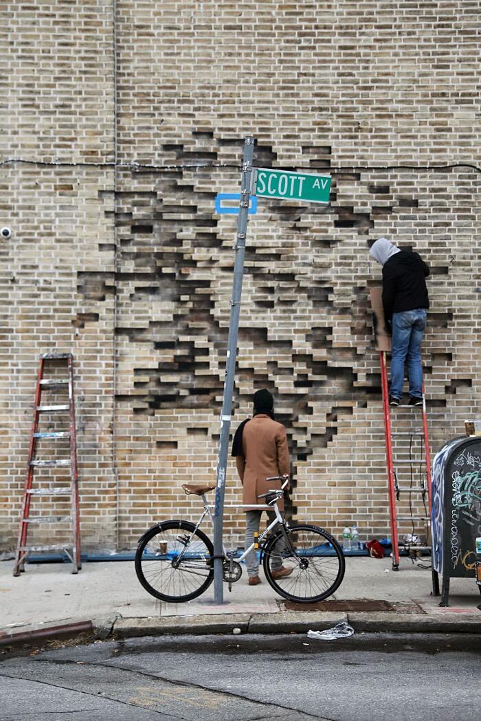 Street Art New York Fossil Pejac