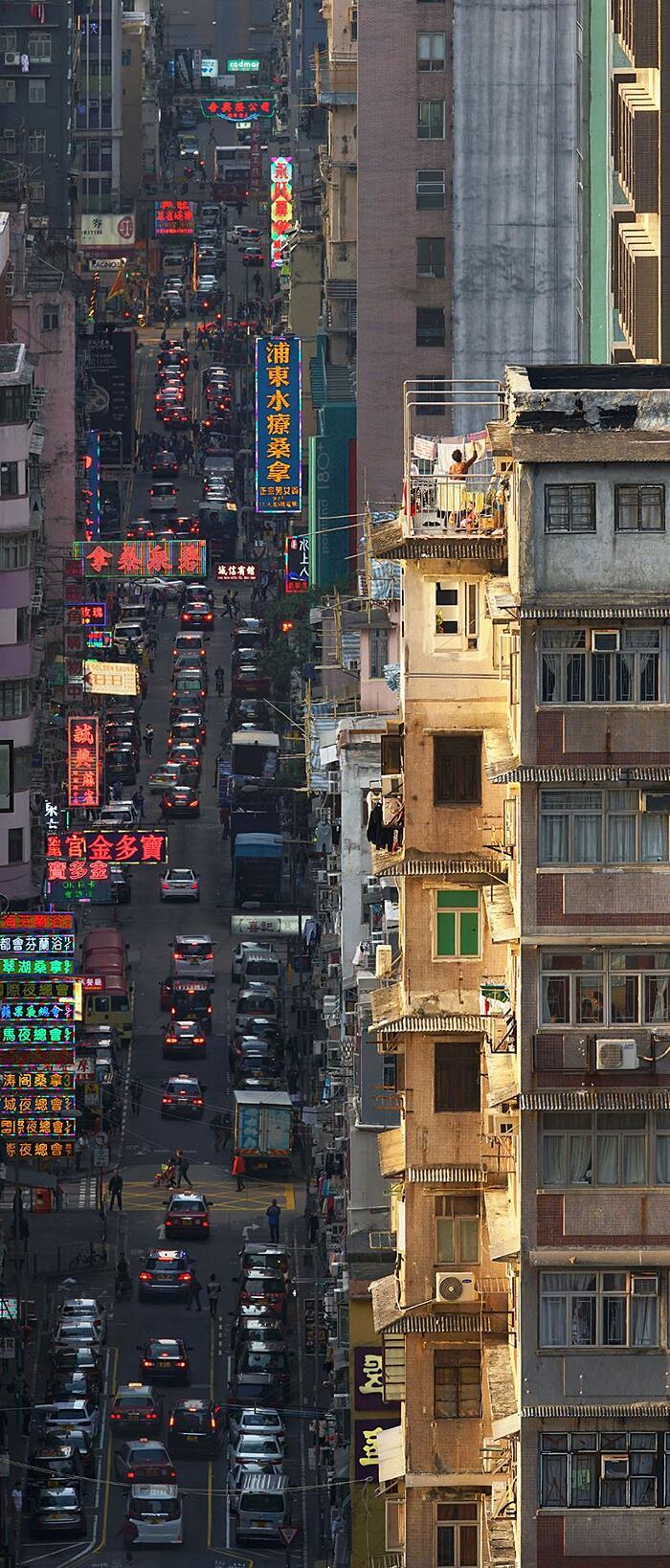 Foto Tetti Hong Kong Concrete Stories Romain Jacquet-Lagrèze