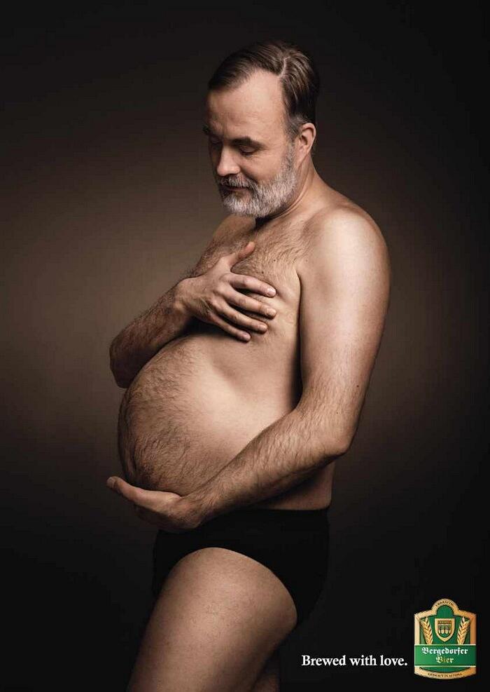 Foto Divertenti Uomini Parodia Gravidanza