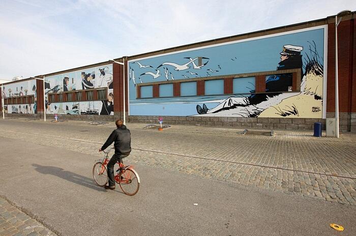 Via Del Fumetto Bruxelles Street Art