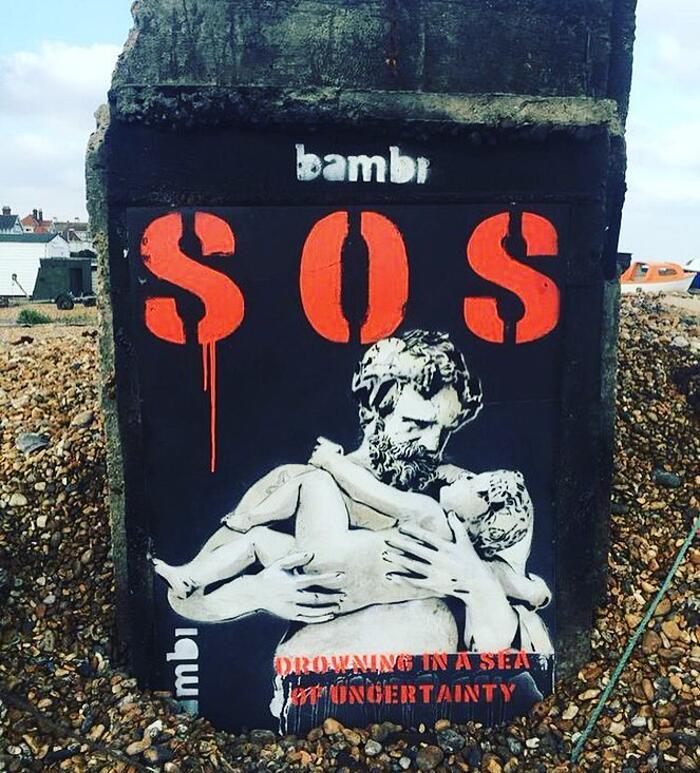 Bambi Street Art Londra