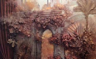 Artista russo usa una tecnica antica per trasformare le pareti in arte