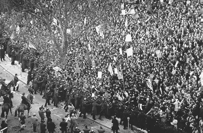 Le immagini più belle dei movimenti del 68 nel mondo - Londra