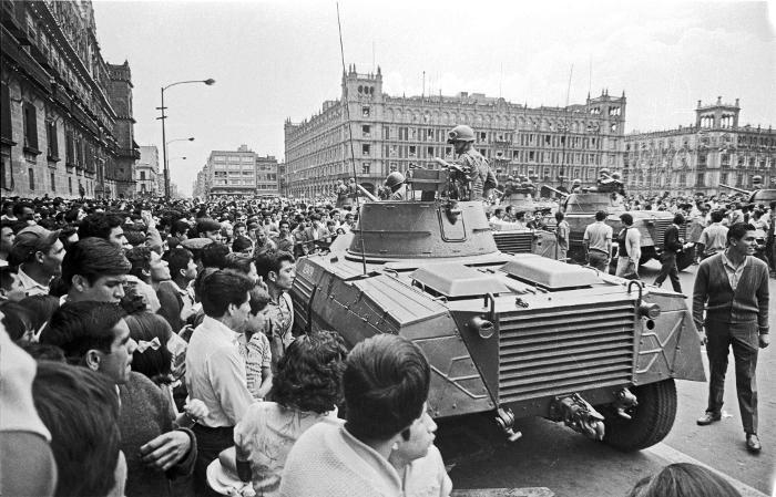 Le immagini più belle dei movimenti del 68 nel mondo - Messico