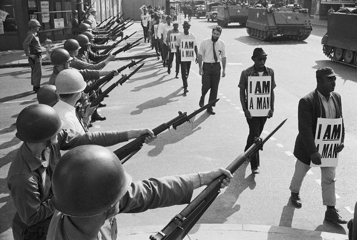 Le immagini più belle dei movimenti del 68 nel mondo - USA
