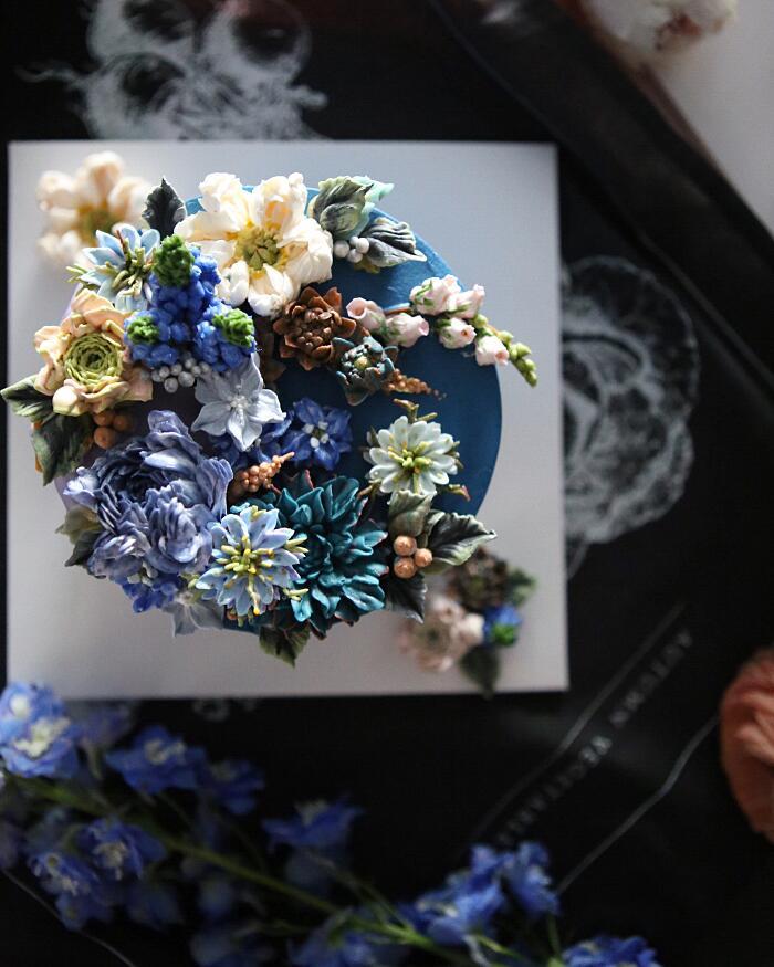 Decorazione Torte Cake Design Fiori Atelier Soo