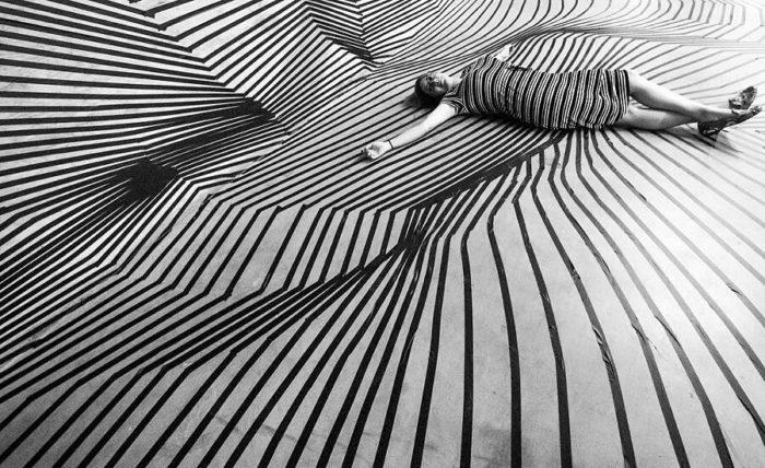 Illusioni Ottiche Nastro Adesivo Darel Carey
