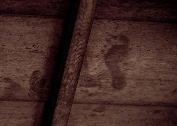 Impronte di sangue impresse nei soffitti dei templi di Kyoto
