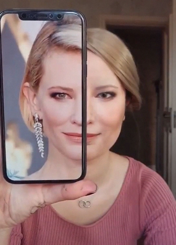 Make Up Cate Blanchett He Yuhong Cina