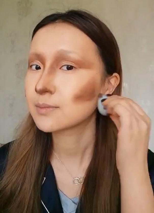 Make Up Della Gioconda He Yuhong Cina