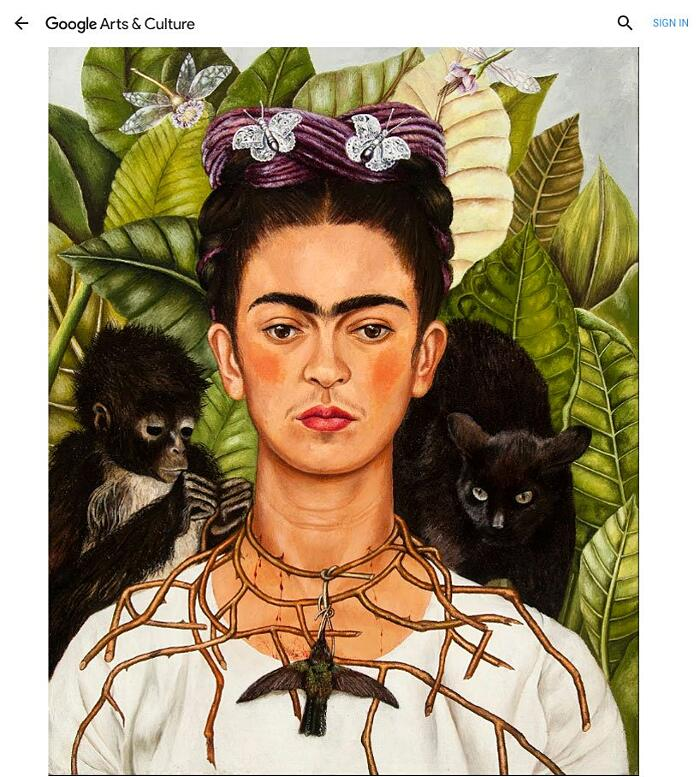 Mostra Virtuale Frida Kahlo Google Arts And Culture