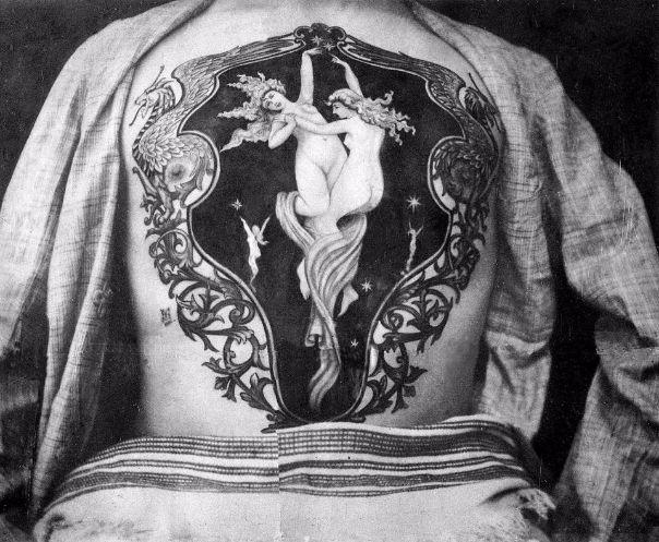 Primo Tatuatore Epoca Vittoriana Sutherland Macdonald