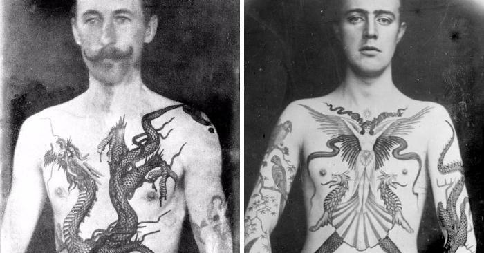 Foto stupefacenti rivelano il lavoro del primo tatuatore inglese di epoca vittoriana