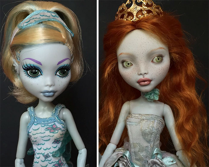Bambole Dipinte A Mano Olga Kamenetskaya