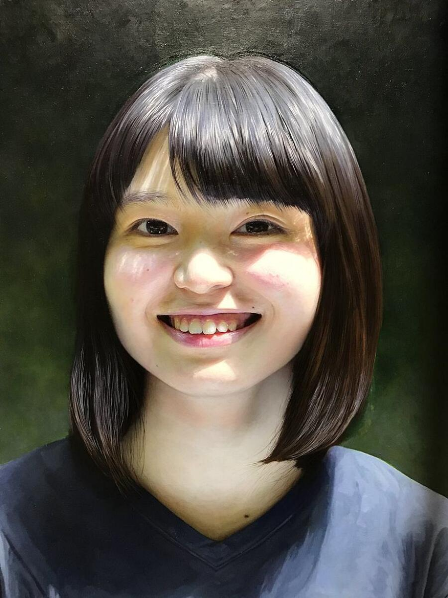 Dipinti Iperrealisti Kei Mieno