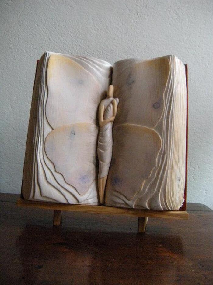 Sculture Di Legno Libri Nino Orlandi