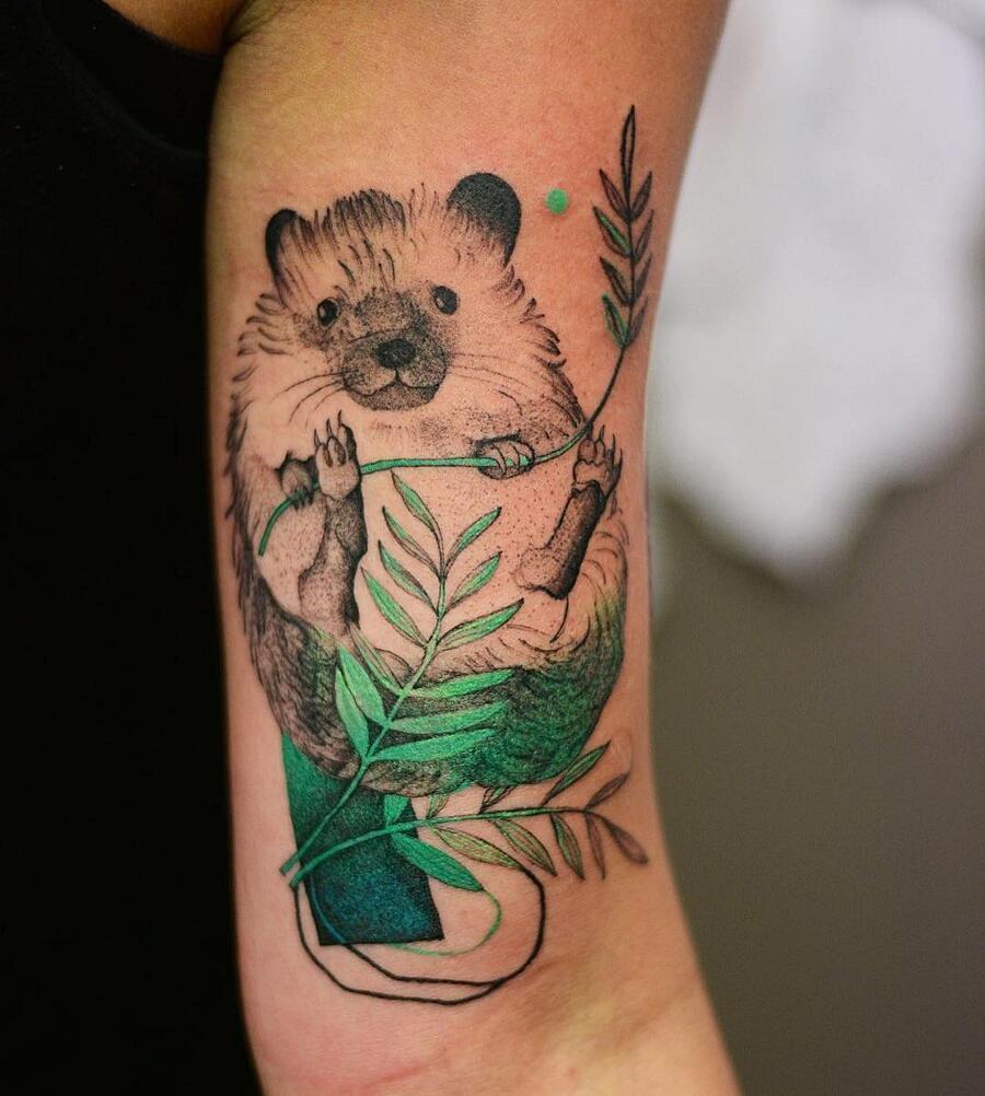 Tatuaggi Colori Psichedelici Joanna Swirska Dżo