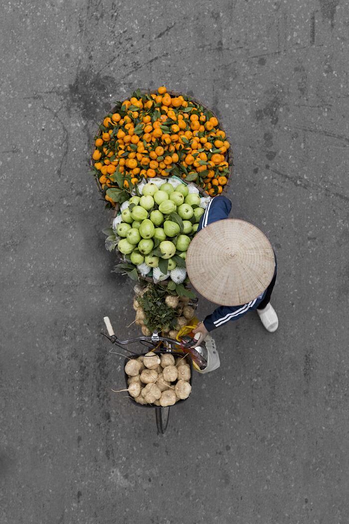 Venditrici Ambulanti Hanoi Loes Heerink