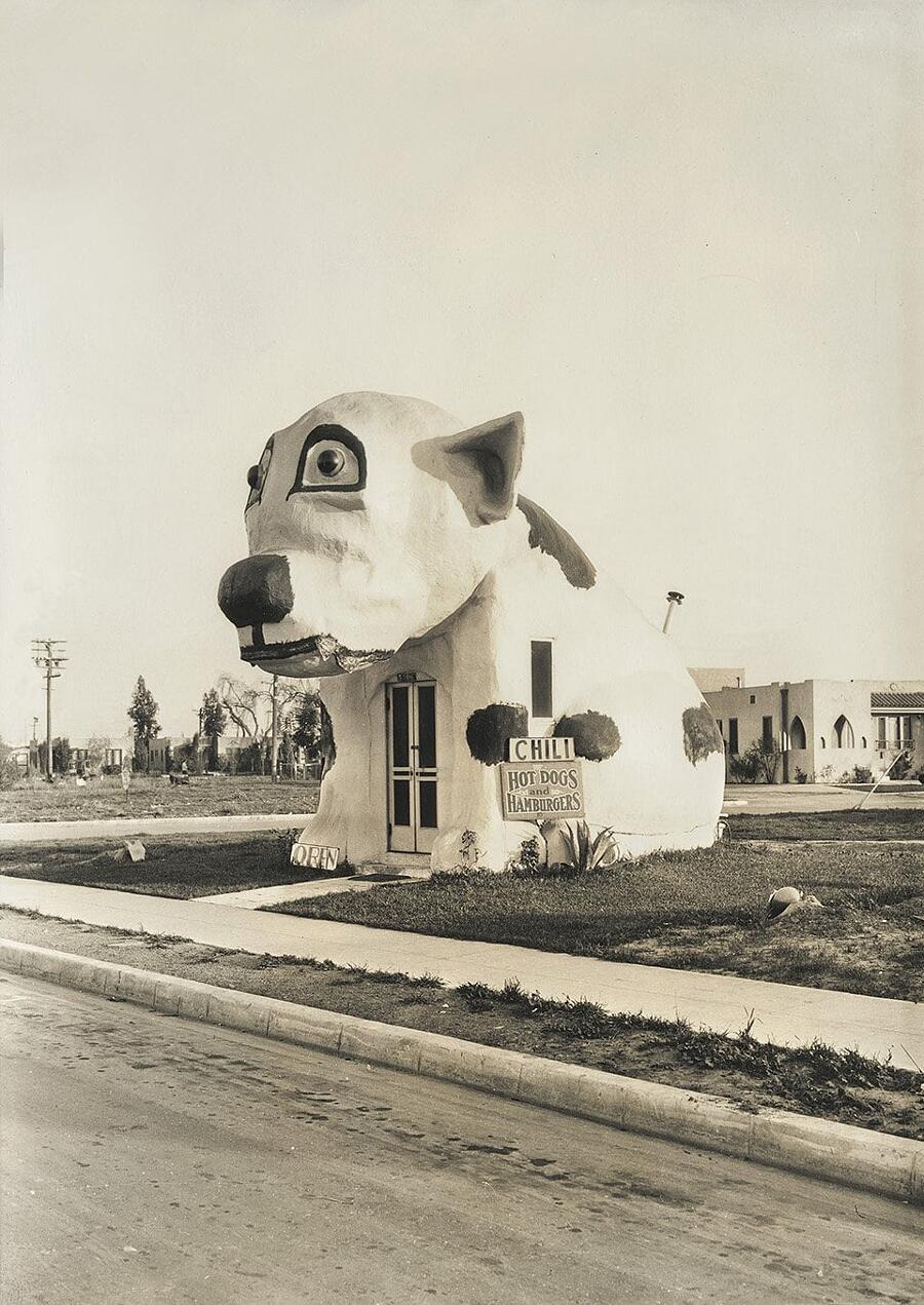 California Crazy, le bizzarre architetture pop dei negozi californiani