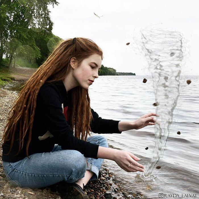 Autoritratti Surreali Alexandra Chertulova