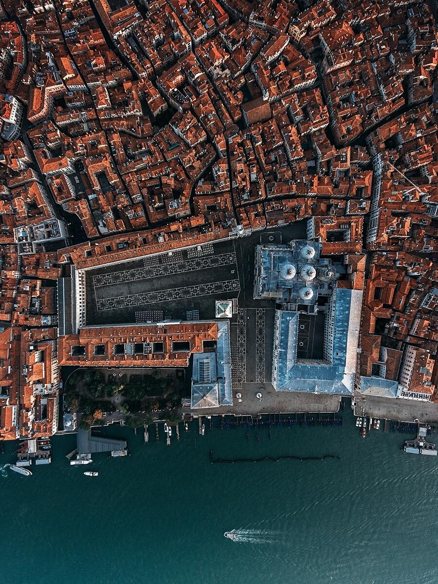 Venezia Veduta Aerea Dimitar Karanikolov